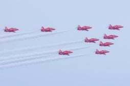 Red Arrows image taken in August