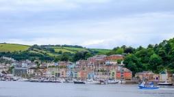 Dartmouth Harbour image taken in September