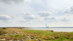 Looking East (Towards QE2 Bridge)