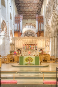 Inside St Albans Cathedral-2