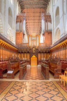 Organ at St Albans Cathedral