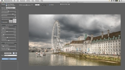 HDR in process (PhotoMatix Pro)